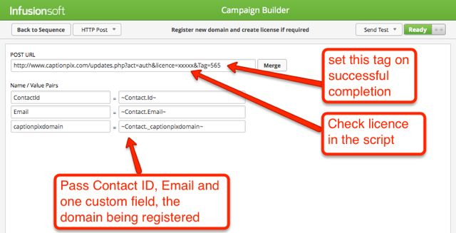 Screenshot of HTTP Post Editor In The Campaign Builder